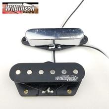 TL Wilkinson Tele Pickups Eleciric Guitar Chrome Silver WOVT
