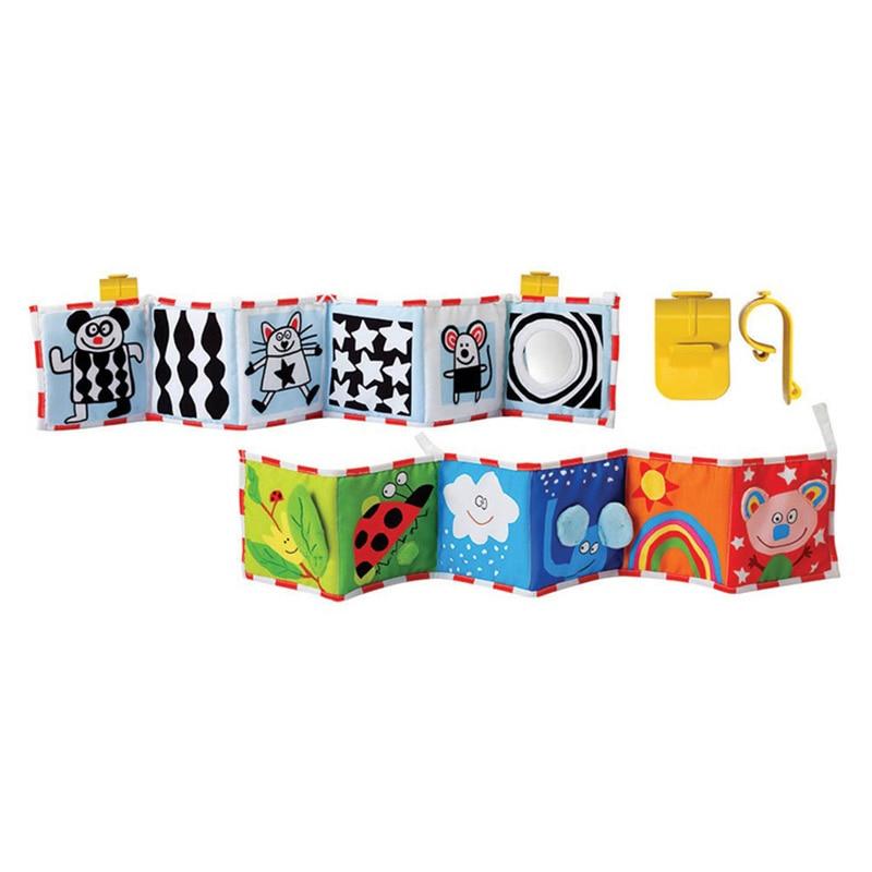 1-12 maanden babyspeelgoed Doek Boek Multi dier Bumper pad Speelgoed - Speelgoed voor kinderen - Foto 6
