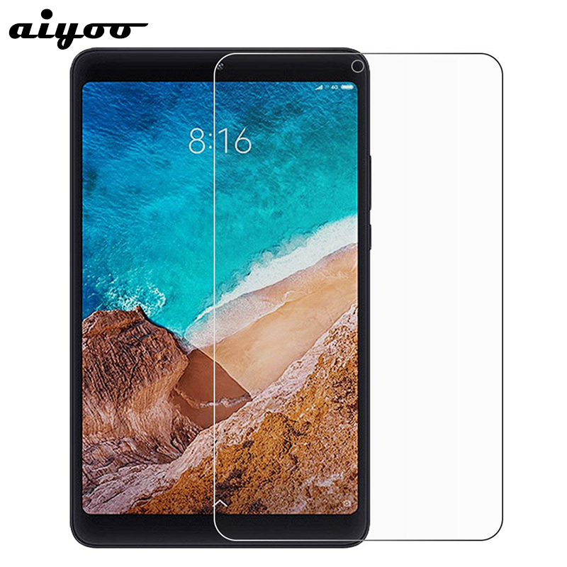 Aiyoo Tempered Glass for Xiaomi Mi Pad 4 9H HD Clear Scratch Proof Screen Protector for Xiaomi MiPad 4 8 inch Tablet Glass Film