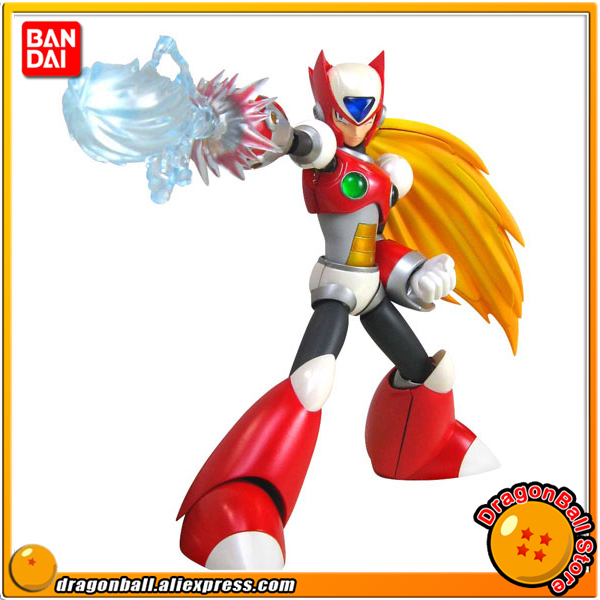 Japan Anime Rock Man / Megaman Original BANDAI Tamashii Nations D-Arts / SHF Action Figure - RockMan X Zero (1st Version) anime captain america civil war original bandai tamashii nations shf s h figuarts action figure ant man
