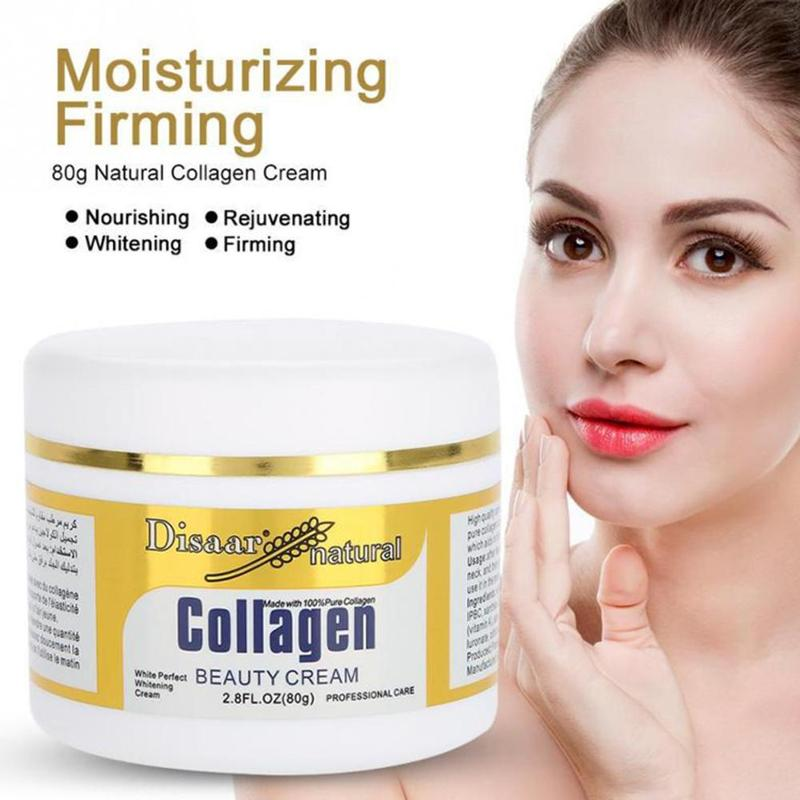 1PC Collagen Power Lifting Cream Face Cream Skin Care Deep Moisturizing Whitening Anti Wrinkle Facial Cream