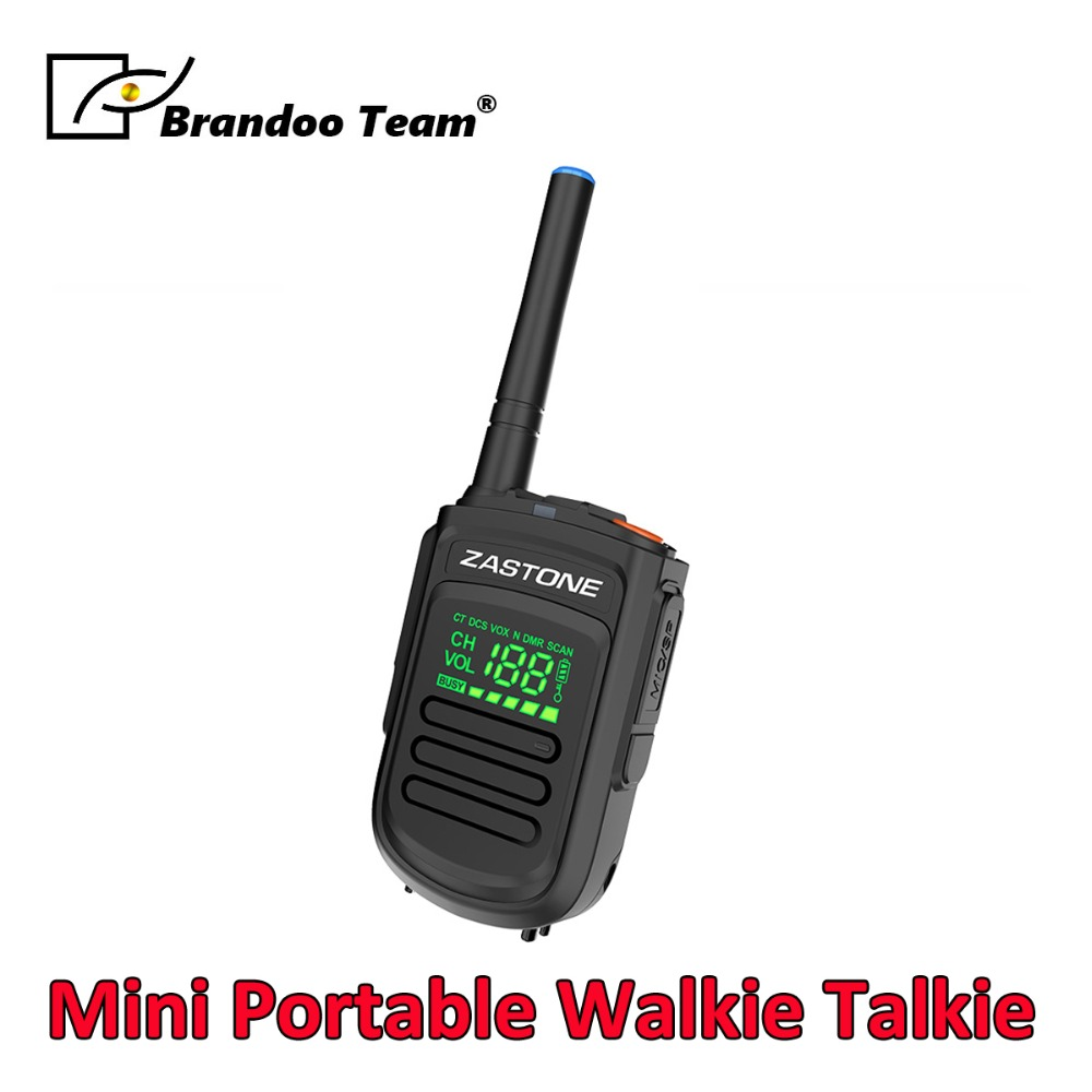 Mini Walkie Talkie UHF 400-470MHz 2W 1500mAh Digital Two Way Radio HF Transceiver RadioMini Walkie Talkie UHF 400-470MHz 2W 1500mAh Digital Two Way Radio HF Transceiver Radio