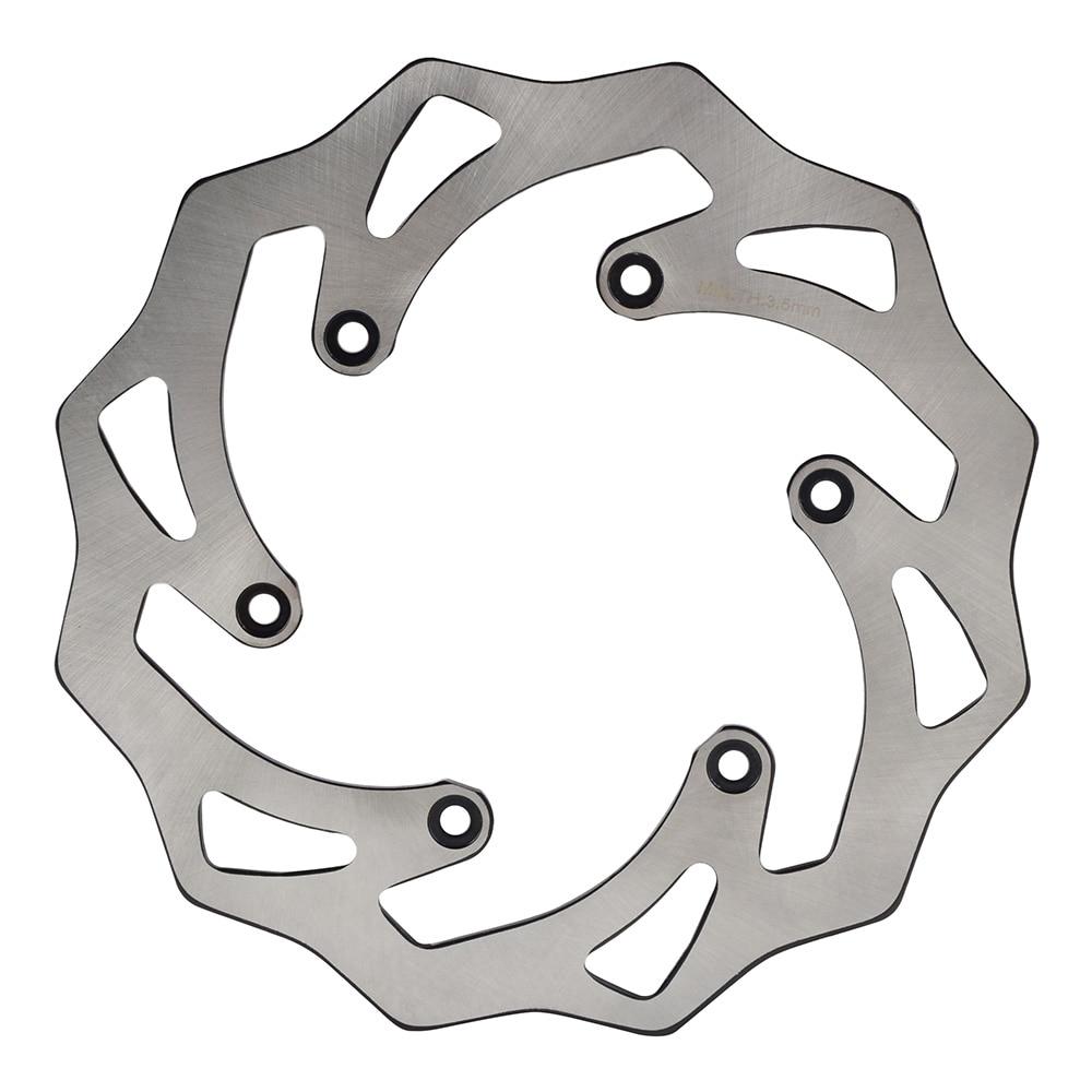 NICECNC Rear Brake Disc Rotor For KTM 125 150 200 250 300 350 400 450 500 SX SX-F EXC EXC-F XC XC-F XC-W XCFW 1990-2018 Husaberg motorcycle front and rear brake pads for ktm xc exc 200 2004 2008 xc exc 250 400 450 2004 2007 sintered brake disc pad