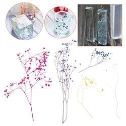 1 коробка для наполнения цветов сухие цветы ручной работы DIY эпоксидная смола наполнитель ремесла силиконовые формы инструменты Кристалл