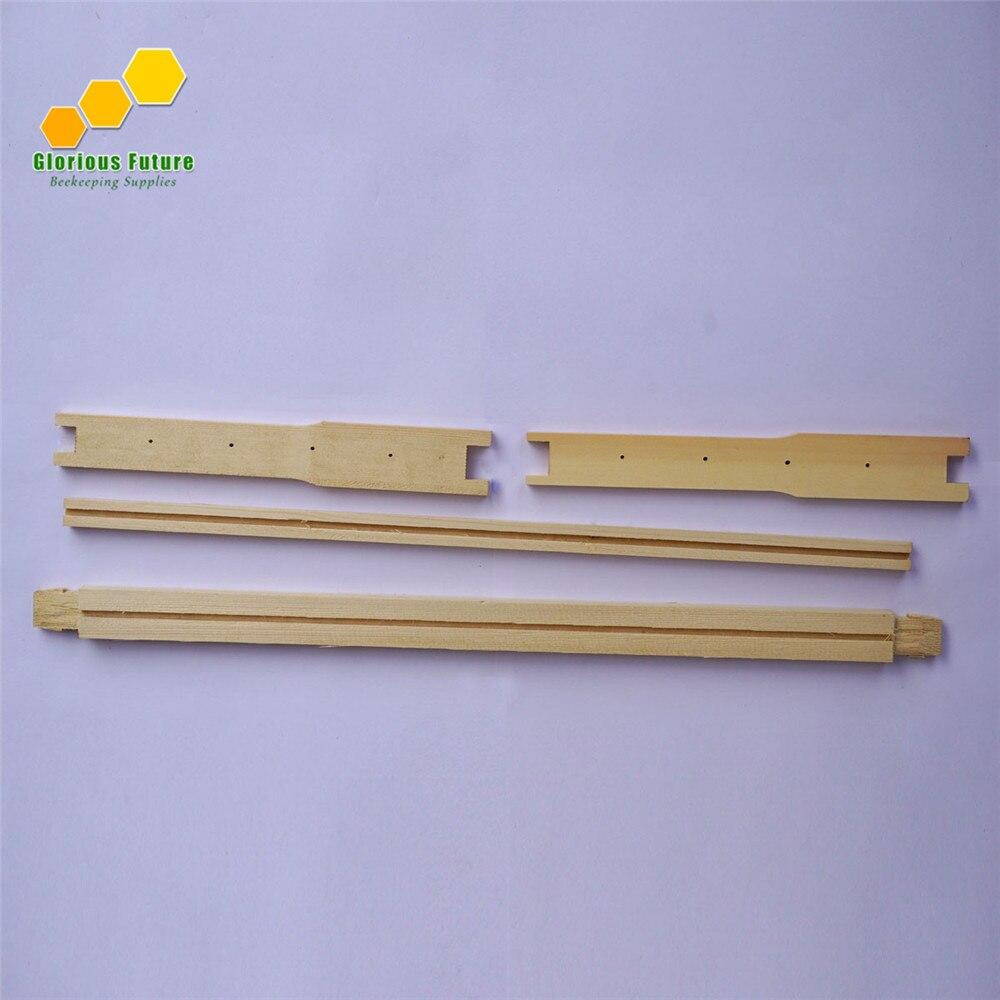 8 шт. рамки улья в разобранном виде рамки Langstroth Bee Hive Box Frames - Цвет: Better Frame FR-1