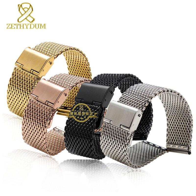 Миланский браслет для часов 22 мм