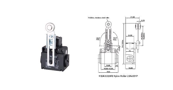 Adjustable Switch Manufacturers Mail: 4Pcs/Lot Top Quality Original CNTD CLS 303 Adjustable Arm