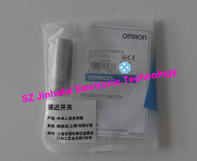 New and original E2E-X7D1-M1G-Z OMRON Proximity sensor,Proximity switch, 12-24VDC 28mm x 1 metric hss right hand tap m28 x 1 0mm pitch