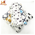 MK 2017 Baby Swaddle Muslin Blankets Cartoon Printed Cotton Baby Blanket Soft Breathable For Newborn Photography Props Basket