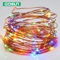 Alimentado por USB 10 m branco Quente/RBG 5 V 100 leds Fio de Cobre portátil luz Da Noite da lâmpada sala de estar quarto