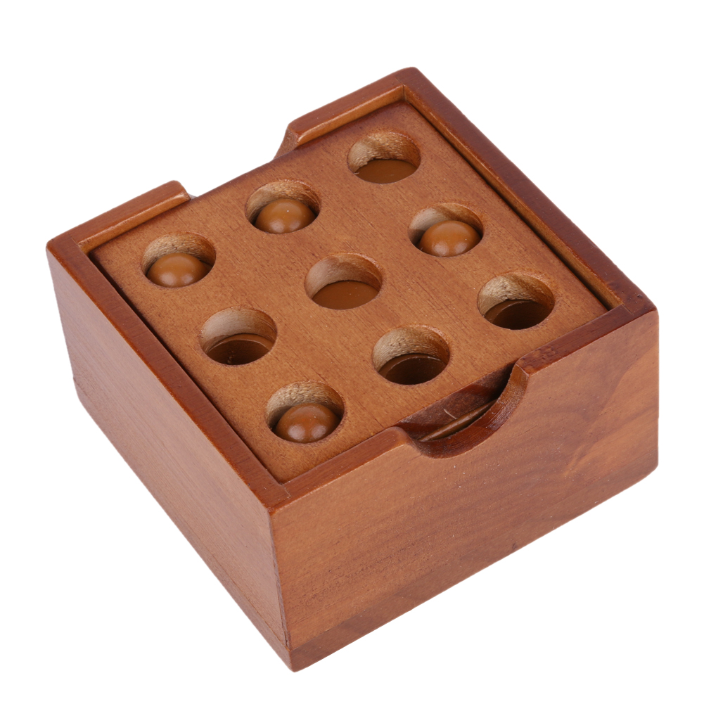 Kong Ming Luban Lock Kids Adult Wooden Intellectual Board Brain Tease Toy, Fun Educational Block Board Game Toy for Children happy ball contest game block toy family interaction fun block board game montessori wooden educational toy for children
