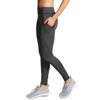 Striped Print Women Casual Leggings Fitness Bodycon Slim Sporting Gray Pants Femme Elastic Phone Pocket Fashion Workout Capris