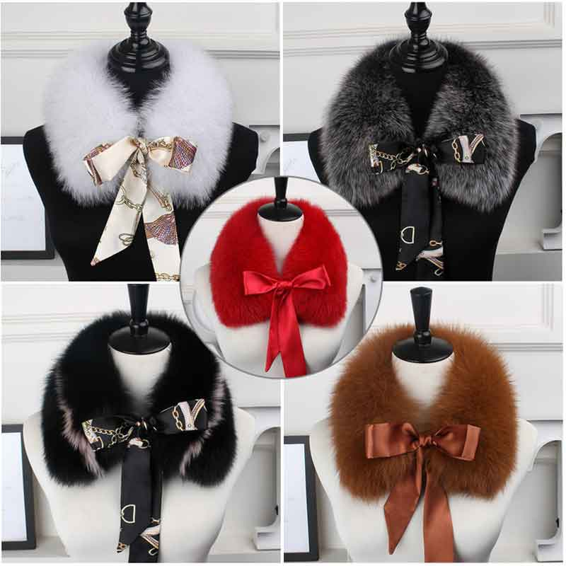 2018, The New Hot Selling Fox Fur Collar, The Natural Fox Fur Collar, The Real Fur Collar Child, The Winter Fur Scarf Ribbon.