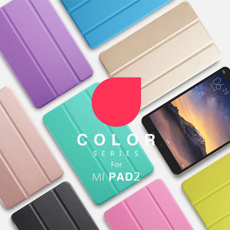 Ultra thin Fundas For Xiaomi Mipad 2 Mipad 3 Original Smart Stand Cover Case Auto Sleep Wake Up for Xiaomi Mi Pad 2 Mi Pad3 Capa mipad 3 flip pu leather case 7 9 inch cases cover fundas for xiaomi mipad2 mi pad 3 protective stand smart cases shell skin capa