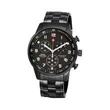 Наручные часы Swiss Military SM34012.04 мужские с кварцевым хронографом на браслете