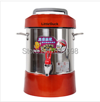 LittleDuck A97 automatic machine commercial business Soybean Milk super capacity steel juice machine red 8L soymilk maker 220v