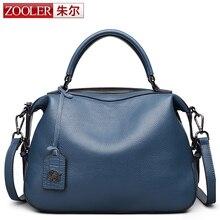 ZOOLER 2016 nueva delicado diseño de cuero real del bolso bolsos de las mujeres famosas marcas de lujo del hombro bolsa bolsa feminina #8116