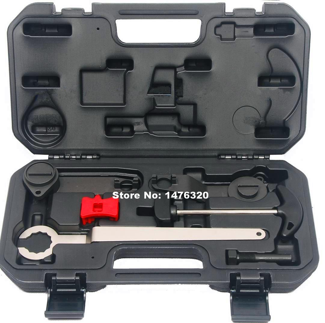 Automotive Engine Timing Camshaft Locking Tool Set For VW Audi A3 Seat Skoda 1.0/1.2/1.4 AT2241  engine camshaft locking setting timing tool kit for audi a1 a3 a4 a5 a6 tt skoda vw vag 1 6 2 0l tdi st0196