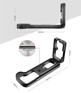 Image 4 - Быстросъемная L образная пластина, держатель, ручной захват, кронштейн для штатива для Fuji Fujifilm Fuji X T2 XT2, камера для Benro Arca Swiss, головка штатива
