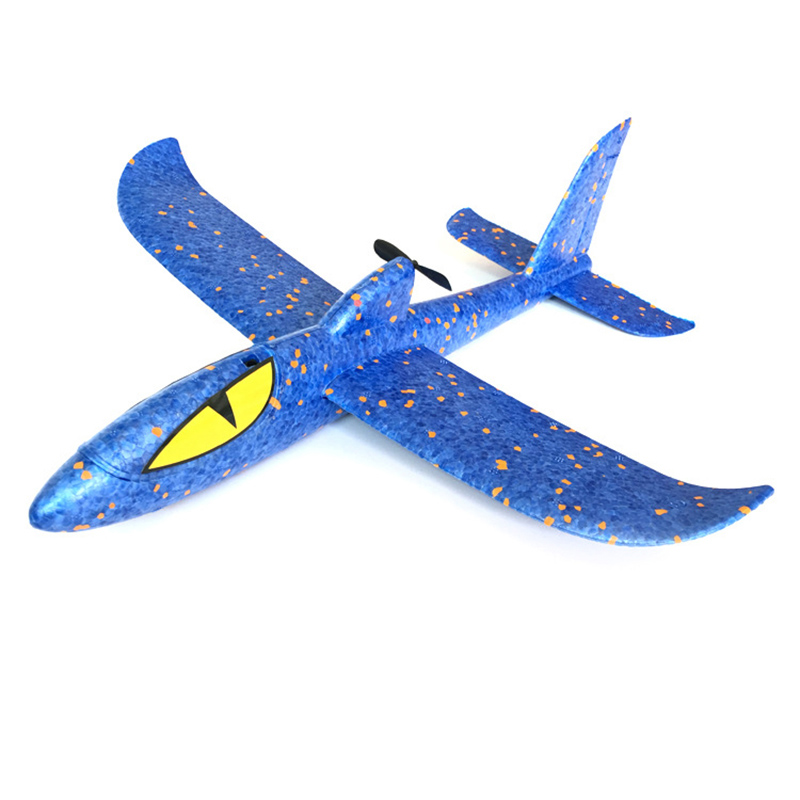 Capacitor Electric Glider Foam Powered Flying Plane Rechargeable Electric Aircraft Model Science Educational Toys For Children in Diecasts Toy Vehicles from Toys Hobbies