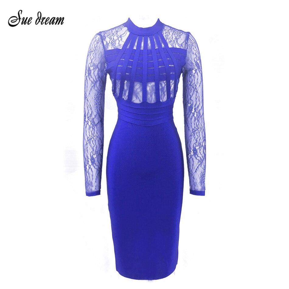 ②2017 nuevas mujeres del verano vestido elegante del vendaje del ...