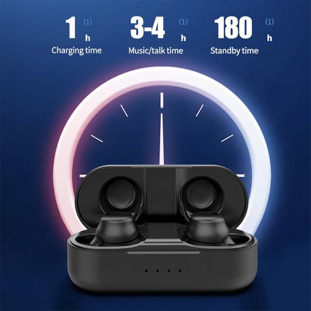 Femperna Bluetooth 5 0 Earphones TWS Wireless Headphones Handsfree Headphone Sports Earbuds Gaming Headset Phone PK