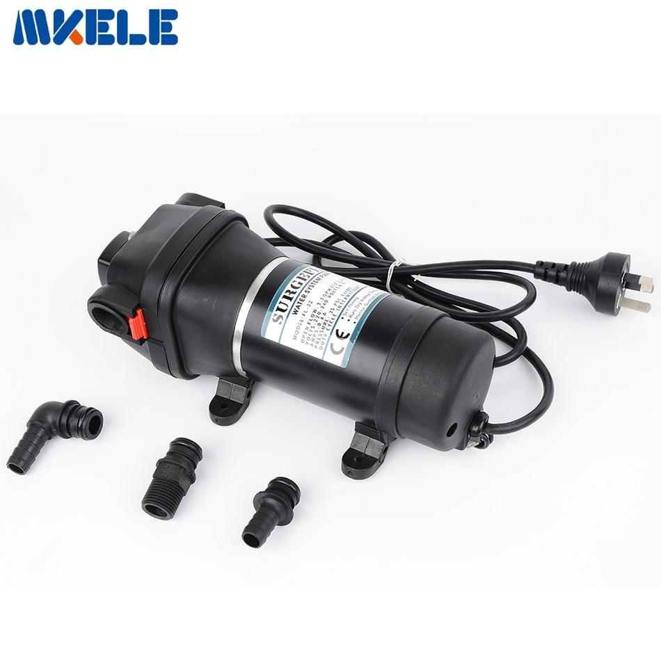 12 V/24 V DC pompe à eau moteur auto-aspiration Mini pompe à diaphragme 10 m ascenseur pompes submersibles FL-30 FL-31
