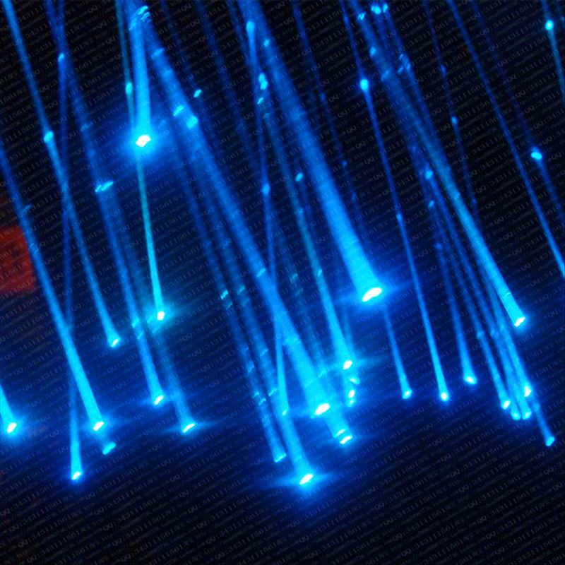 50~300PCS X 0.75mm X 2Meters Sparkle Flash Point Glow PMMA Plastic Fiber Optical Cable Free Shipping
