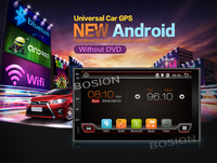 Free Shipping Android 7 Double 2Din Dual Core Car Radio GPS Universal Without Dvd Car Audio