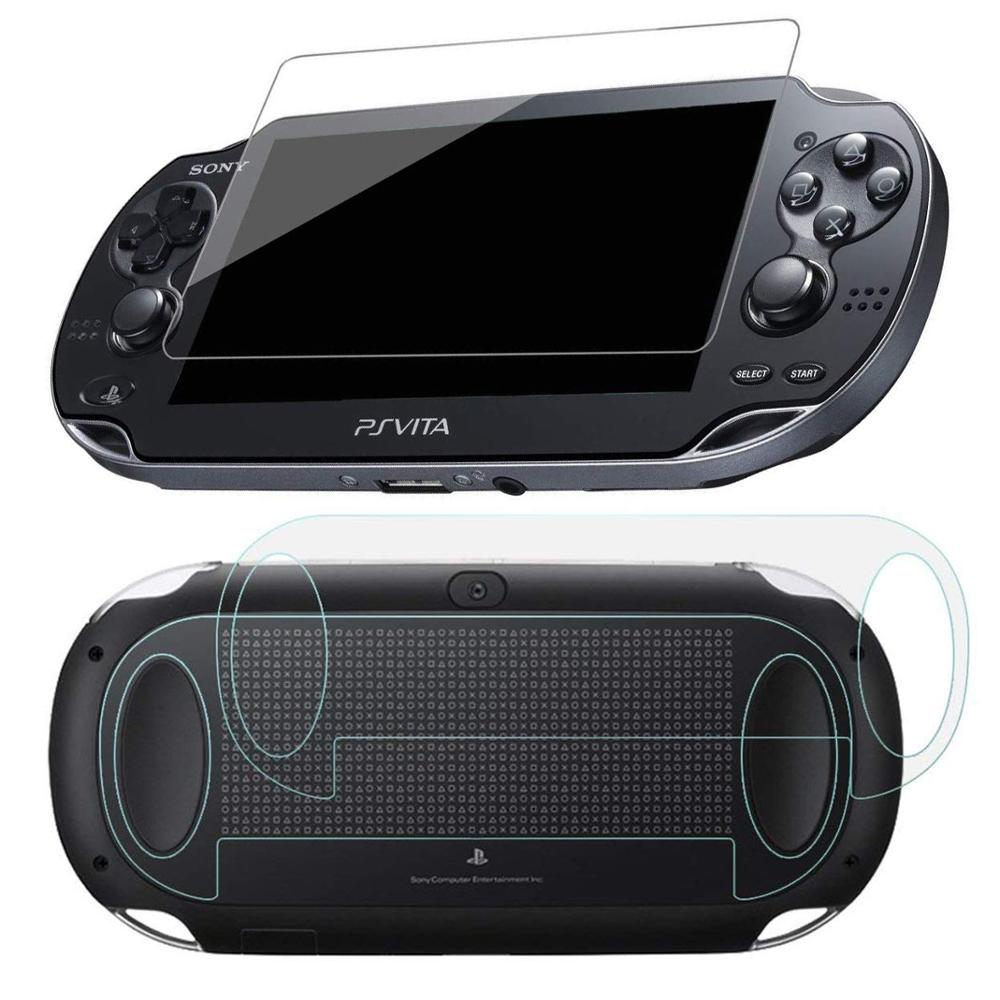 PSV1000 Tempered Glass Clear Full HD Screen Protector Cover Protective Film Guard HD Scratch Resistant Psvita PS Vita PSV 1000