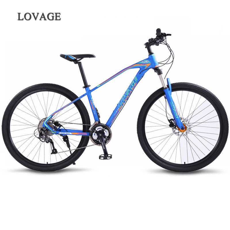 Wolf's Fang Bicycle Mountain Bike 27speed 29Inch Road Bikes Mtb New Bmx Aluminum Alloy Fat Front And Rear Mechanical Disc Brake