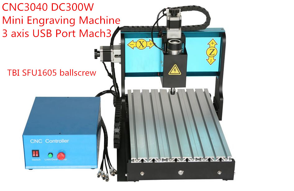 USB Port 300W 4Axis CNC Router Engraving Machine 3040 MACH3 Control Woodworking Engraver Milling Machine russain no tax wood acrylic 500w cnc router engraver engraving milling drilling cutting machine cnc 3040 usb port