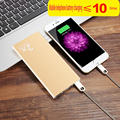 High-capacity  10000mAh Portable Battery Mobile Power Bank USB Charger Li-Polymer with LED Indicator For Smartphone