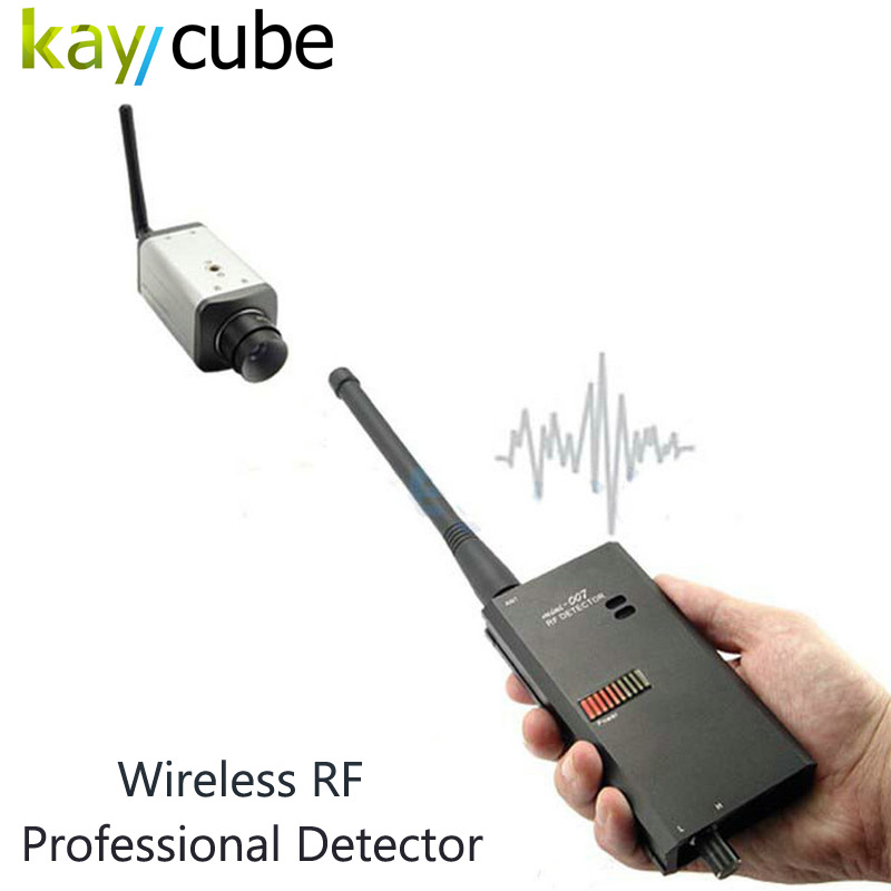 3pc High Sensitivity Wireless RF Signal And Bug Detector Specially Designed For Military Police Goverment Radio Frequency Detect 1 pcs full range multi function detectable rf lens detector wireless camera gps spy bug rf signal gsm device finder