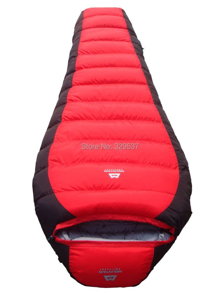 New Style 2.2kg Winter Outdoor Down Sleeping Bag Mummy Type Duck Down(1.5kg) Winter Thickening Sleeping Bag  25 Degree-in Sleeping Bags from Sports & Entertainment    3