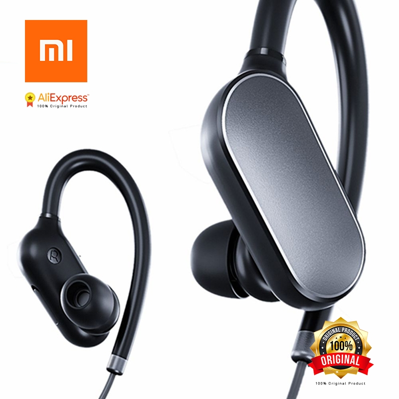 Original Xiaomi Mi Sports Bluetooth Headset Bluetooth 4.1 Music Earbuds Mic IPX4 Waterproof Wireless Earphones for Xiaomi Mi 6 mi 313 migix movement music купить дешево в китае