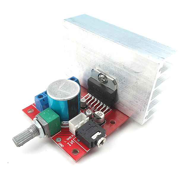 Special Offers TDA7377 power amplifier board X 35W 35W, 12V DC power amplifier board, car amplifier than TDA7375 good