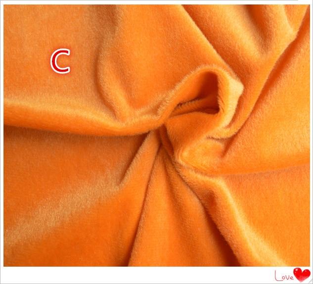 50 * 150 cm Samt Stoff Meter Brown Plüsch Fleece Handarbeit - Kunst, Handwerk und Nähen - Foto 6