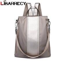 be9c7d309e Mode coréenne Anti-vol sac d'école pour les filles multifonction étanche femmes  sac à dos Simple sacs à bandoulière pour les fem.