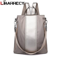 Модная Корейская Anti-theft школьная сумка для девочек Многофункциональный Водонепроницаемый Для женщин рюкзак простой сумки на плечо для Для