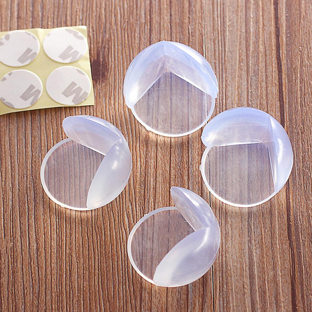 HobbyLane 10Pcs Kids Baby Transparent Safety Protector Table Corner Edge Protection Cover Anticollision Guards