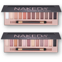 Eyeshadow Palette Makeup Waterproof 12 Color Glitter Shimmer Make Up Colors Pigments Professional Eyeshadow Palette