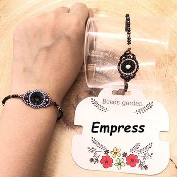 5fea5a318361 Nueva moda FAIRYWOO pequeño círculo elástico Boho mujer brazaletes pulseras  de vidrio importado Miyuki cuenta ajustable Cadena de regalo