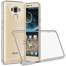 IMAK Crystal Clear Silicone Case for Asus ZenFone3 Макс ZC553KL Case Носимых Hard Case for Asus ZenFone3 Макс ZC553KL Охватывает