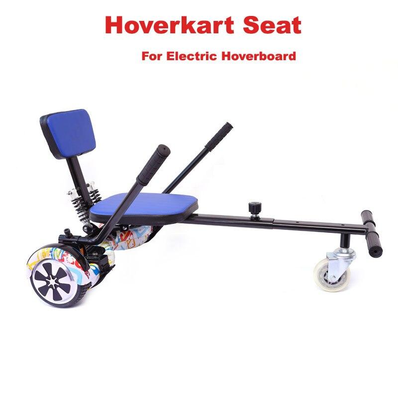 Hoverkart seat go kart frame karting kart saddle shock for Sillas para hoverboard