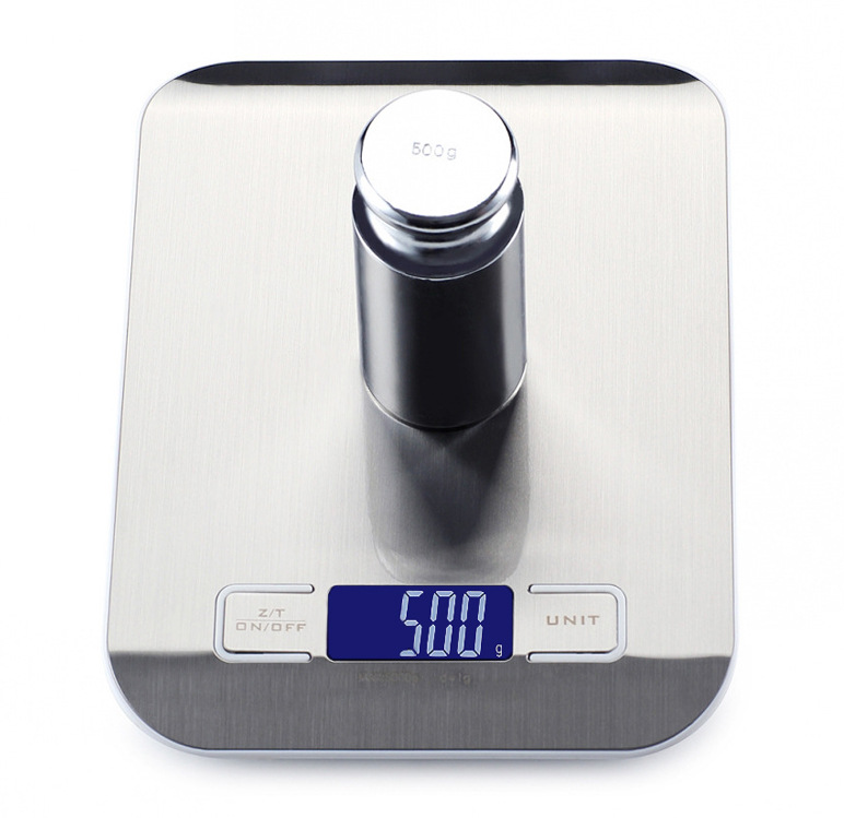 Image 4 - Household Kitchen scale 5Kg/10kg 1g Food Diet Postal Scales balance Measuring tool Slim LCD Digital Electronic Weighing scale-in Weighing Scales from Tools