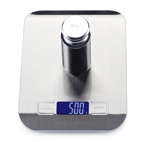 Image 4 - Household Kitchen scale 5Kg/10kg 1g Food Diet Postal Scales balance Measuring tool Slim LCD Digital Electronic Weighing scale