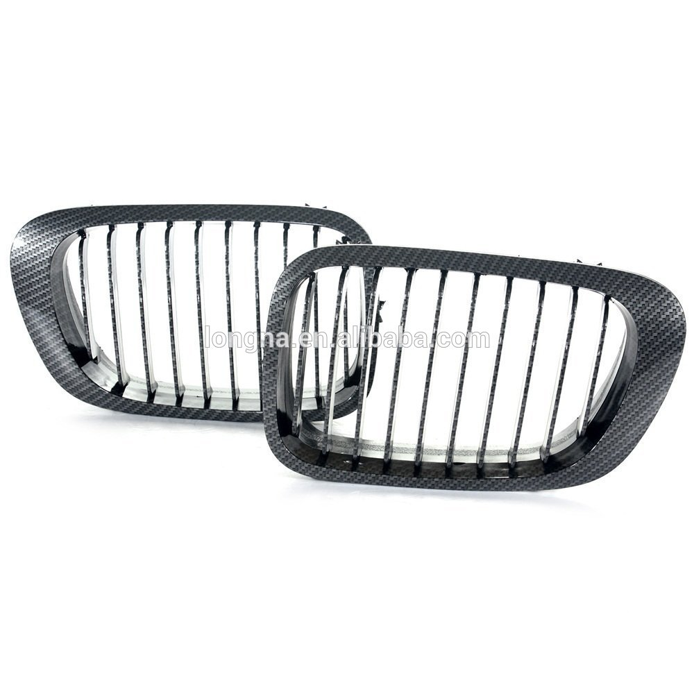 High Quality Front Kinedy Grill Carbon Fiber Black grille