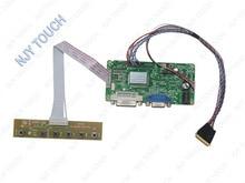 Free shipping DVI DVA LCD Controller Driver Board LVDS Kit For B116XW02 V.0 1366×768 LED Panel