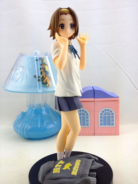 K-ON! 18cm Tainaka Ritsu Action Figures PVC brinquedos Collection Figures toys for christmas gift with Retail box free shipping